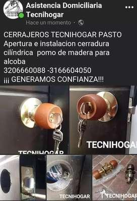 CERRAJEROS TECNIHOGAR PASTO