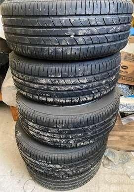 Neumático completo , llanta BMW , cubierta Bridgestone 205 55 16