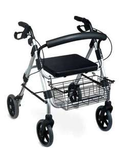Caminador de 4 ruedas