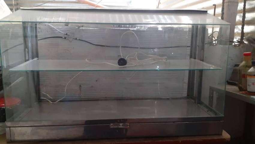 vitrina de calefacción 0