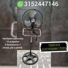 VENTILADOR DE 10 PULGADAS 3 EN 1