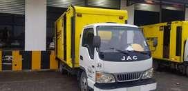 Se vende camión jac en excelentes condiciones con puesto de trabajo