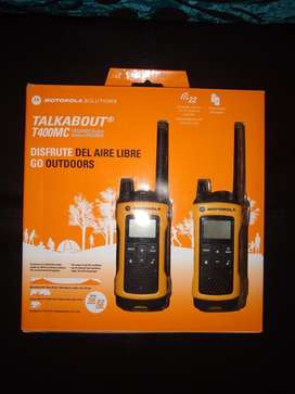 Walkie Talkie Motorola T400mc