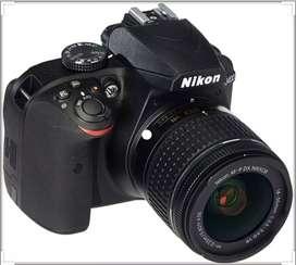 Cámara Nikon D3400 Nueva