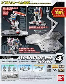 ACTION BASE N°4 CLEAR