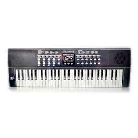Piano musical con 54 teclas, adaptador Microfono