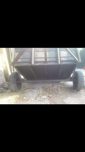 Vendo trailer de un eje