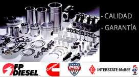 Repuestos para motores Cummins-Caterpillar-Detroit Diesel