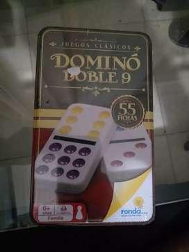 Se vende juego domino, totalmente nuevo en su empaque