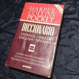Diccionario Español-Ingles Harper Collins Pocket