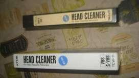 LIMPIADOR DE CABEZALES VHS HEAD CLEANER DE TDK
