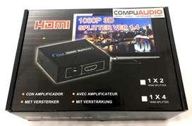 Multiplicador de imagen HDMI Splitter 1 x 4 HDMI
