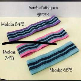 Bandas elasticas en tela