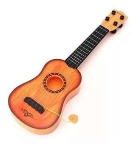 Guitarra En Caja 47 Cms Juguete Operativo Niño $