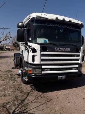 El camion se encuentra travajando en perfectas condiciones