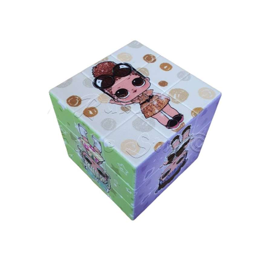 Rubik Lol En Forma De Cubo Mini Rubik