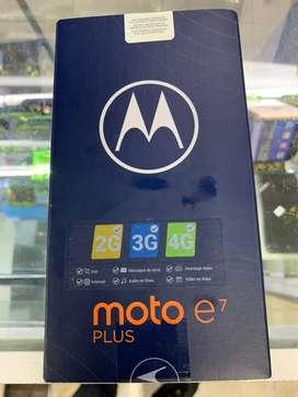 Motorola E7 plus una semana  de uso 64 gb