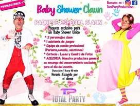 Show Baby shower clown / payaso
