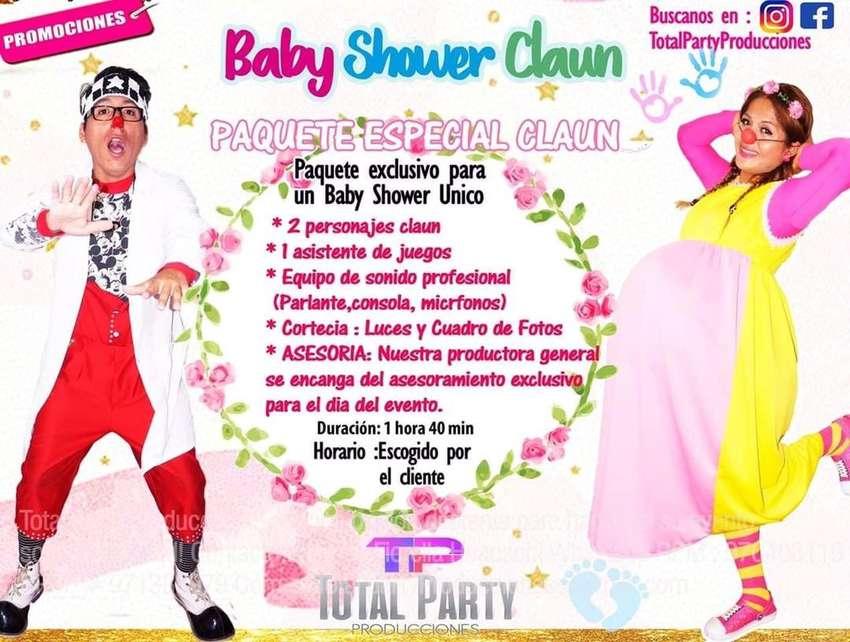 Show Baby shower clown / payaso 0