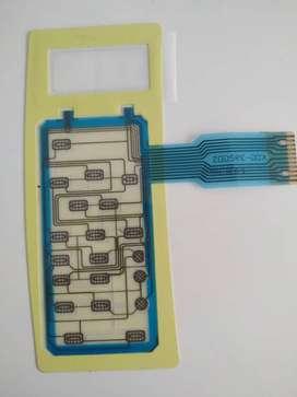 Panel Membrana Flex Microondas Daewoo Grundig Gmw 39bg