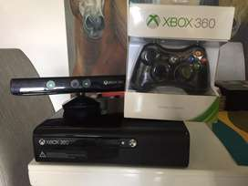 Xbox 360 4gb con kinect, control