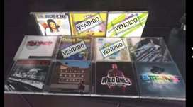 Vendo CD's musica electrónica, desde $10.000(solo fotos).