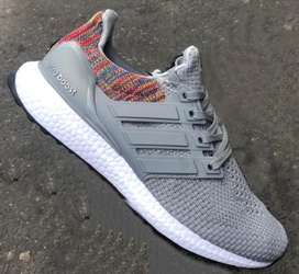 Tenis Adidas Ultraboost gris Envio Gratis