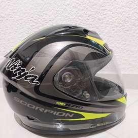 casco de moto scorpion exo R710