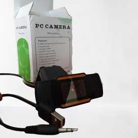 Webcam 720P. Interface USB 2.0, Focus range_ 3cm-infinity, Automatic while balace, Automatic color compansated.