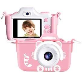 Cámara Digital Para Niño Con Doble Camara Memoria Incluida
