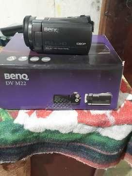 Vendo Filmadora, BenQ,DV M22, en uso, pero en buen estado,