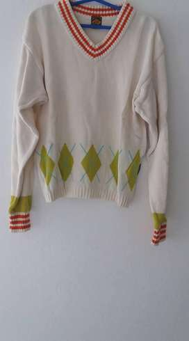 SWEATER HILO CON ROMBOS TALLE 1