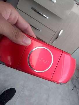 Psp color rojo
