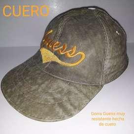 Gorra de Cuero