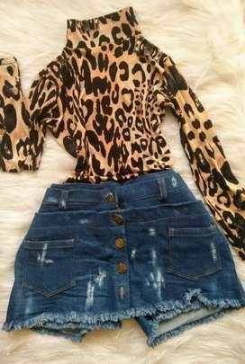 Preciosa falda shorts