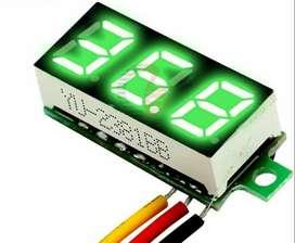 Mini Voltímetro Digital De 2.5 A 30 Voltios Máximo. $3