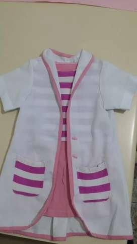 Disfraz de Doctora muñeca para niña de 2 años