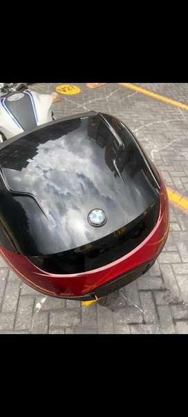 Topcase - Maletero BMW original con parrilla - G310R / G310GS.