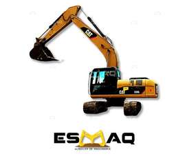 Alquiler de Excavadora de Oruga, Demoliciones, Desbanques, Desalojos, Excavaciones, Limpieza de Terrenos, Desbanques.