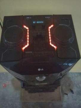Caja lg  con efectos de sonido