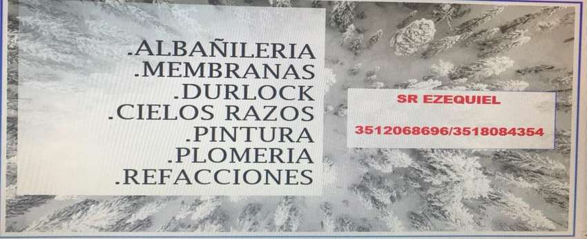 ALBAÑILERIA EN GRAL,PINTURA!! 0
