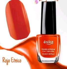 Esmalte 6 En 1 (ésika) Tono: Rojo Etnico