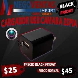 CARGADOR USB CAMARA ESPIA