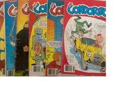 Colección 62 revistas de Condorito. Estado: Aceptable.