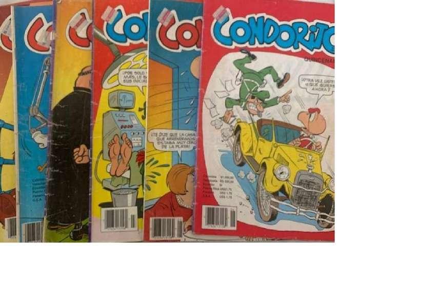 Colección 62 revistas de Condorito. Estado: Aceptable. 0