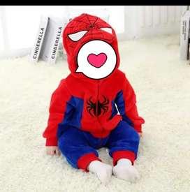 Disfraz spider man- baby
