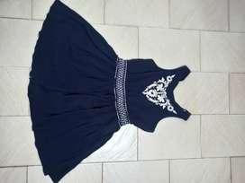 Vestido Azul talle unico (S/M), usado