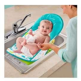 Silla bañera portátil para bebé