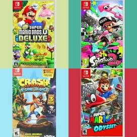 Caratulas Juegos Nintendo Switch