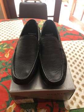 Zapato mocasin negro GUANTE (nuevo/sin uso)